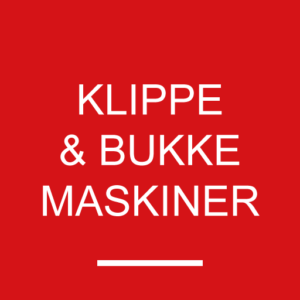 Klippe- & Bukkemaskiner